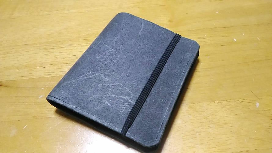 「Tenuis2 – 薄い財布」は小銭が落ちる。
