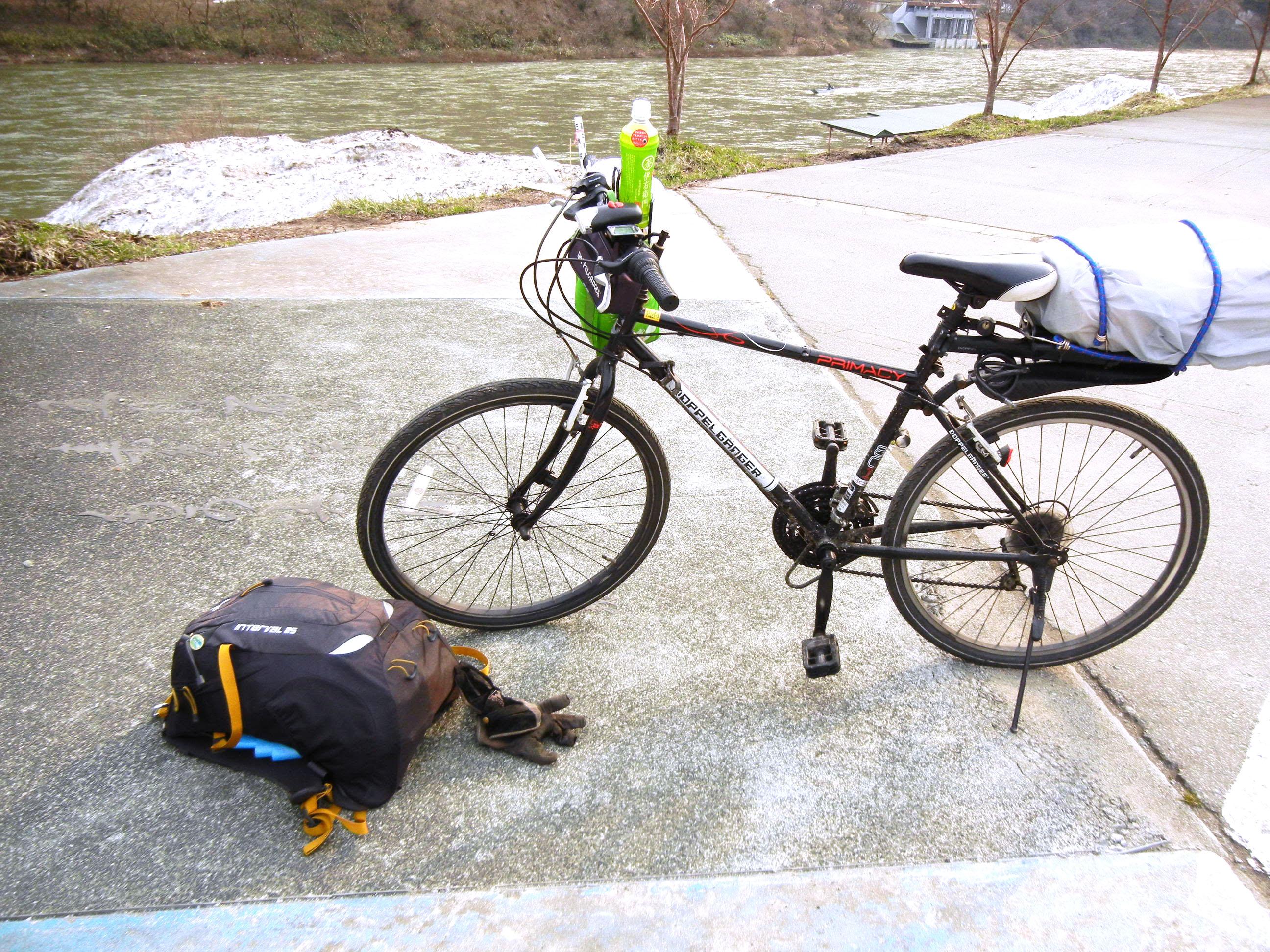 7年前の震災の時、自転車で秋田へ向かいました